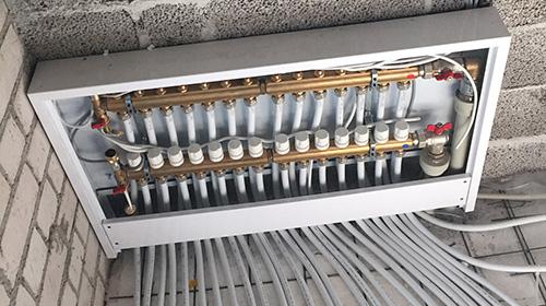 Šildymo sistemų įrengimas